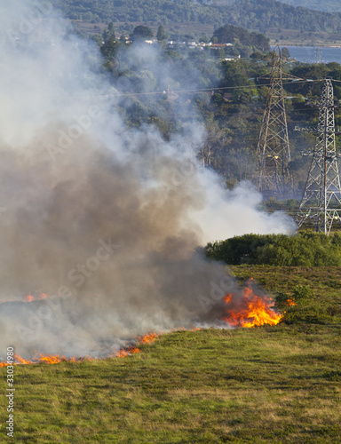 Heathland Fire