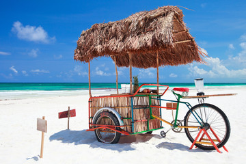 Beach bar bike