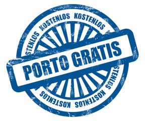 Strahlen Stempel blau RT PORTO GRATIS