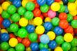 Multicolored balls background