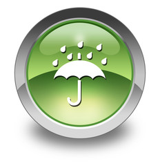 "Green Glossy Pictogram ""Keep Dry"""