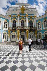 turisti nel palazzo di caterina