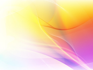 Pink and yellow swirling background