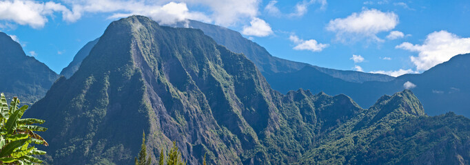 piton d'anchaing, cirque de Salazie, île de la Réunion