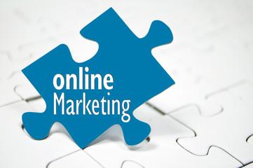 Puzzl mit Online Marketing