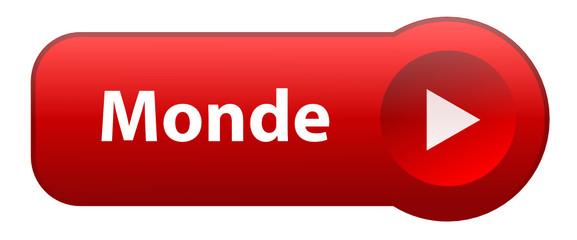 "Bouton Web ""MONDE"" (global international planète business icône)"