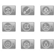 E-mail web icons set
