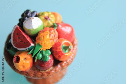 果物の模型