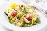 Fototapety Pasta vegetarisch