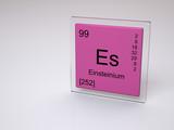 Einsteinium - symbol Es - chemical element of the periodic table