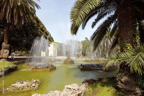 europa, italia, sicilia, palermo, giardini inglesi