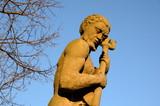 Neptun Figur in Lübeck