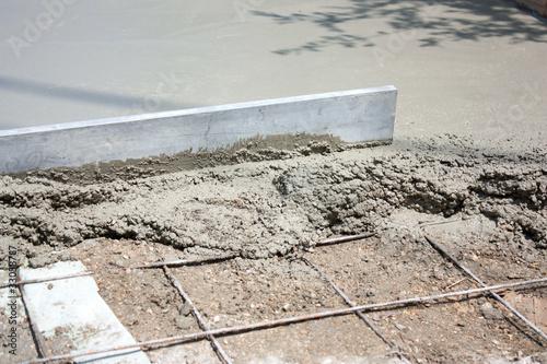 terasse chape de ciment de tristanbm photo libre de droits 33058787 sur. Black Bedroom Furniture Sets. Home Design Ideas