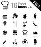 Fototapety Basic - Food Icons