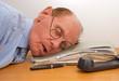 Erschöpfung im Büro - Burnout in the Office