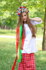 Pretty ukrainian girl