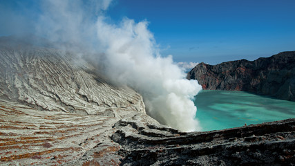 Vulkan Mt. Ijen