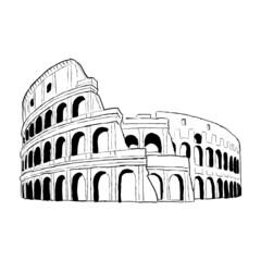 zeichnung colloseum 4