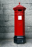 old postbox poster