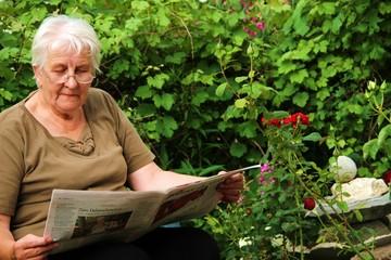 Ruhestand im Garten