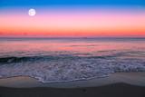 Fototapety Mondaufgang am Meer