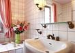 interno di bagno, dettaglio