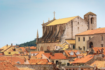 red rooftops of Dubrovnik old town