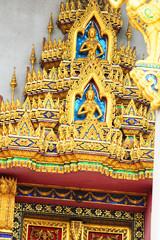 Temple in Bangkok, Thailand.