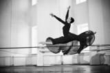 Fototapety jump training ballerina