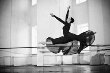 jump training ballerina