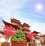 Singapore china temple