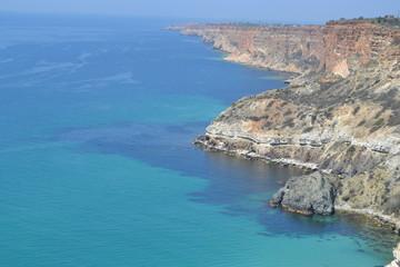 Синие море...