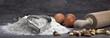 Ei und Mehl zum Kekse backen - 33081977