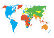 World map | Continents