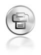 button aqua icon print