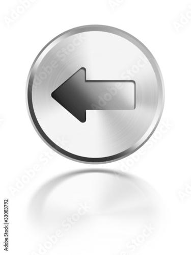 button aqua icon Pfeil