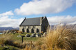 The Church of the Good Shepherd, Lake Tekapo. New Zealand