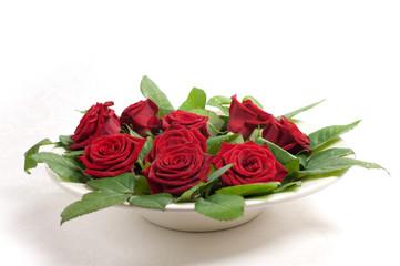 il piatto di rose