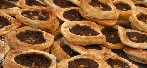 Lebanese meat pies (sfeeha)