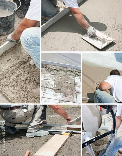 Composition Construction de terrasse
