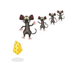 quattro topi