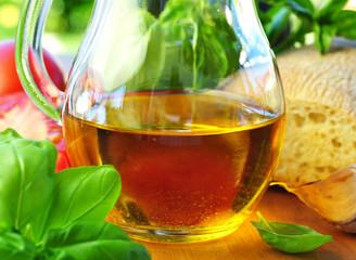 Brot mit Olivenöl