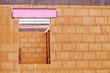 Rohbau eines Wohnhauses