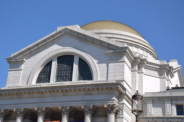 Dome of National Museum of Natural History in Washington, DC