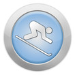"Light Colored Icon ""Downhill Skiing"""