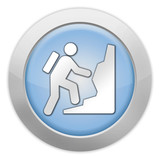 "Light Colored Icon ""Climbing"""