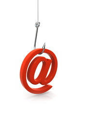 3d Phishing for your email address