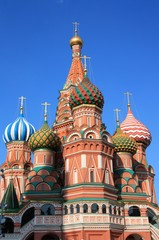 St Basils Cathedral at the Red Square in Moscow, Russia
