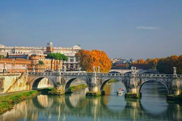 Sant'Angelo's Bridge Rome, Italy