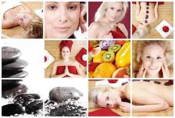Wellness Collage, Energie Quelle